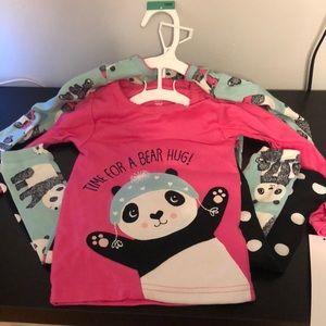 4pc Panda 100% Cotton Pj Set - Carter's just for u